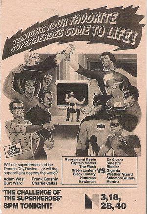Серіал «Легенды супергероев» (1979)