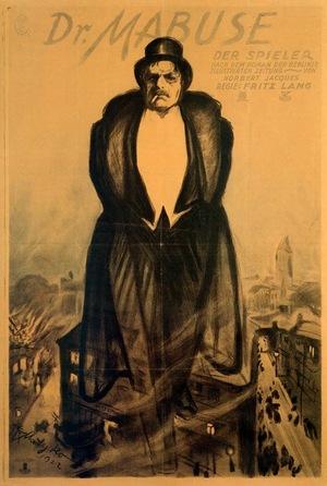 Фільм «Доктор Мабузе, гравець» (1922)