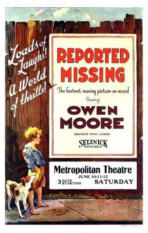 Фільм «Reported Missing» (1922)