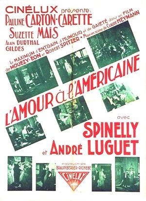 Фільм «L'amour à l'américaine» (1931)