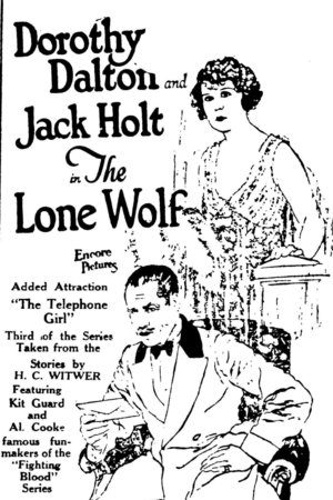 Фільм «Одинокий волк» (1924)
