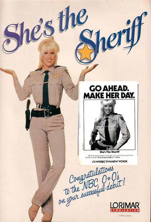 Серіал «Она шериф» (1987 – 1989)
