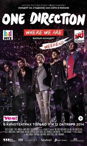 Фильм «One Direction: Где мы сейчас» (2014)