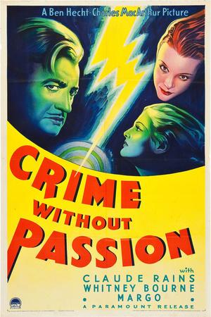 Фильм «Преступление без страсти» (1934)