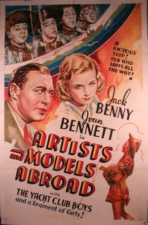 Фільм «Художники и модели за границей» (1938)