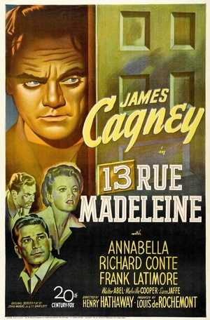 Фільм «Дом 13 по улице Мадлен» (1946)