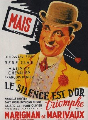 Фільм «Мовчання — золото» (1947)