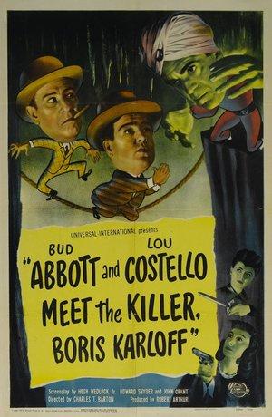 Фільм «Эббот и Костелло встречают убийцу, Борис Карлофф» (1949)