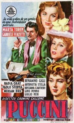 Фільм «Пуччини» (1953)