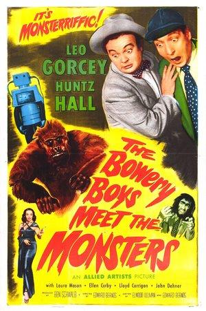Фільм «Бауэри Бойз Встретить монстров» (1954)