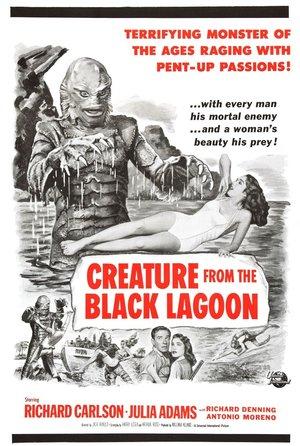 Фильм «Тварь из Чёрной Лагуны» (1954)