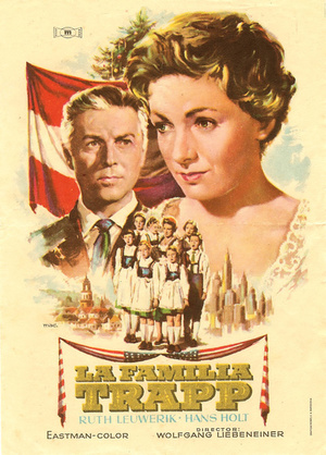 Фильм «Семья Трапп» (1956)