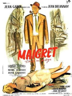 Фільм «Мегрэ расставляет сети» (1958)