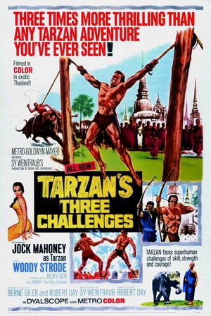 Фільм «Три испытания Тарзана» (1963)