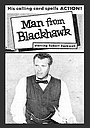 Сериал «The Man from Blackhawk» (1959 – 1960)