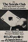 Фільм «Клуб самоубийц» (1974)