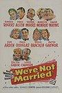 Фильм «Мы не женаты» (1952)
