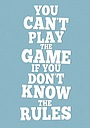 Фильм «Нельзя играть, не зная правил»