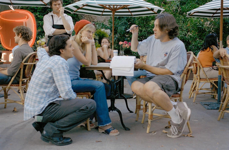 Фільм «Елізабеттаун» (2005): Кірстен Данст, Кемерон Кроу, Орландо Блум 1500x987