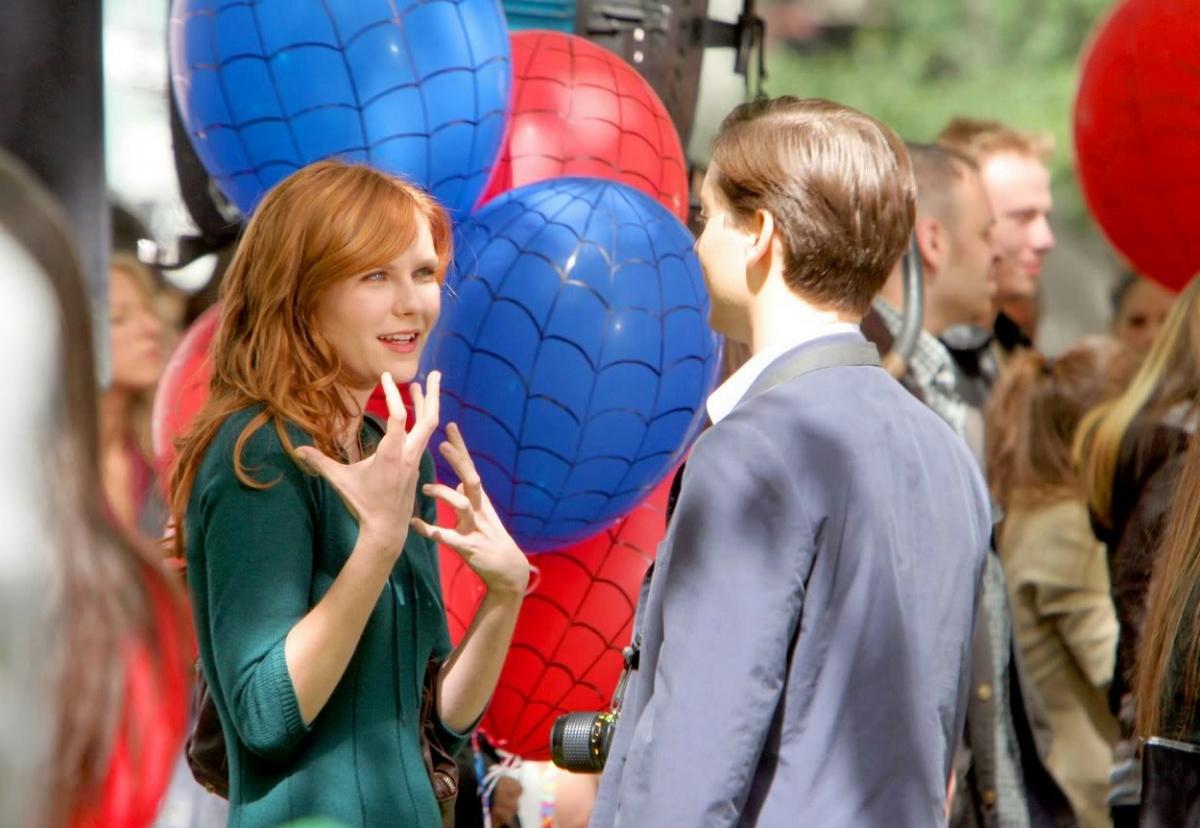 Фільм «Людина-павук 3: Ворог у тiнi» (2007): Кірстен Данст, Тобі Магуаєр 1200x828