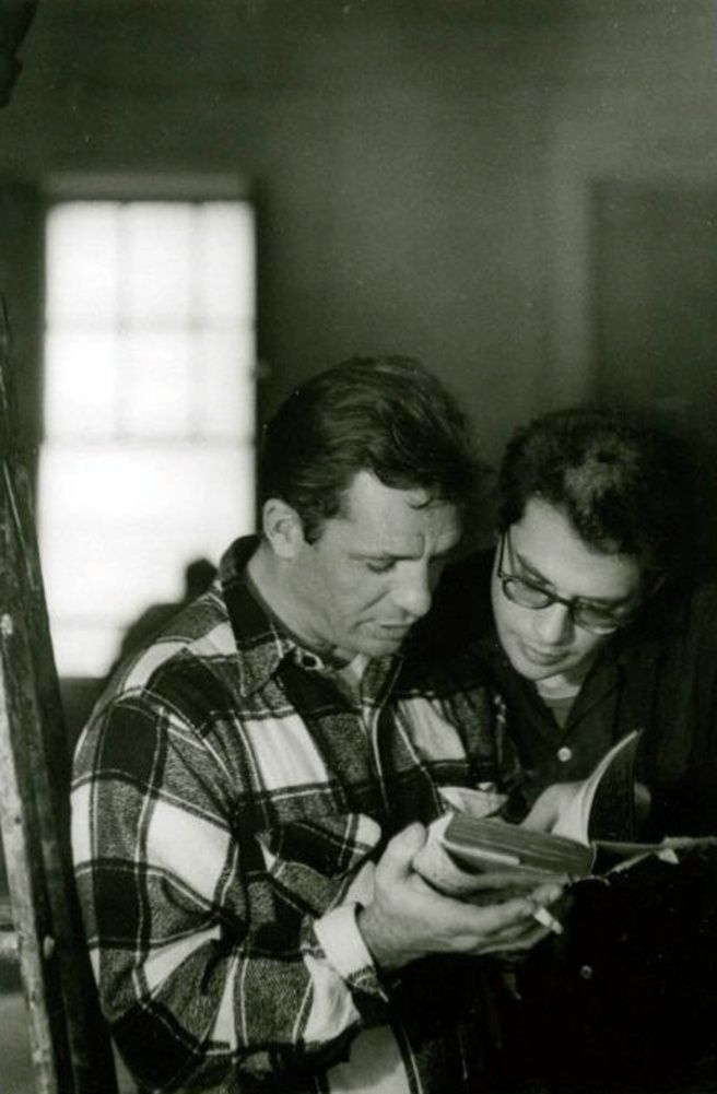 Фильм «Погадай на ромашке» (1959): Аллен Гинсберг, Джек Керуак 656x1001