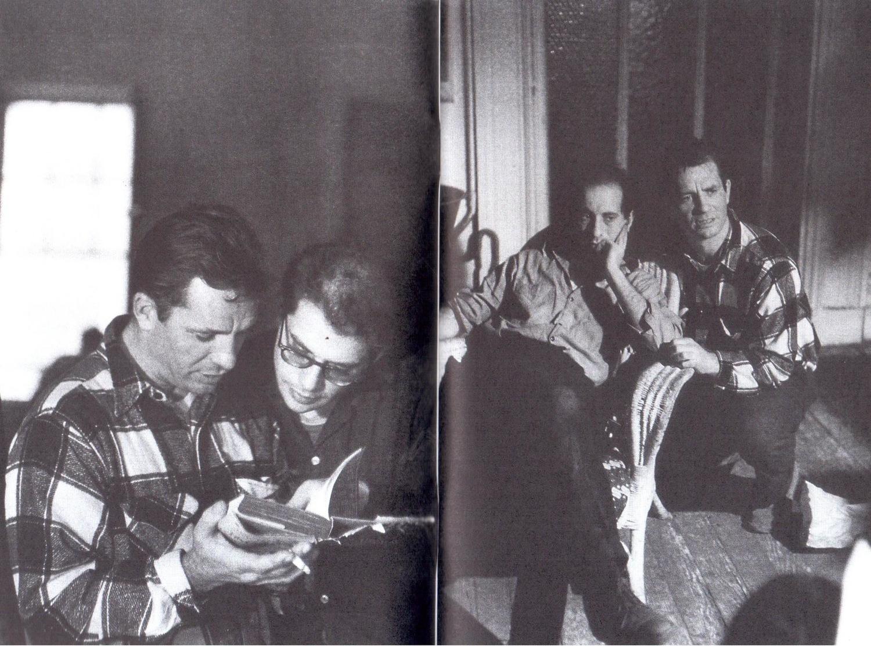 Фильм «Погадай на ромашке» (1959): Аллен Гинсберг, Джек Керуак 1500x1112