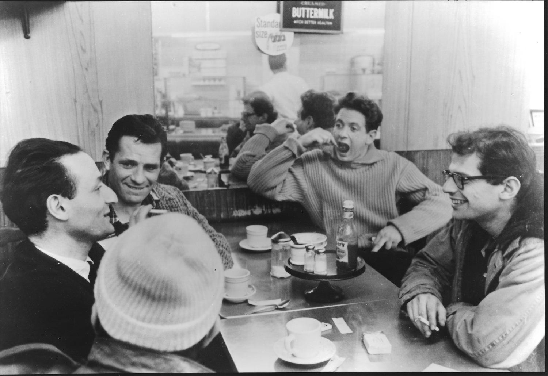 Фильм «Погадай на ромашке» (1959): Аллен Гинсберг, Джек Керуак 1500x1031