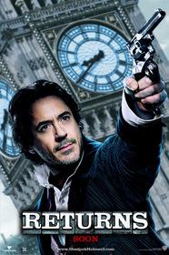 «Шерлок Холмс 3» — кадри