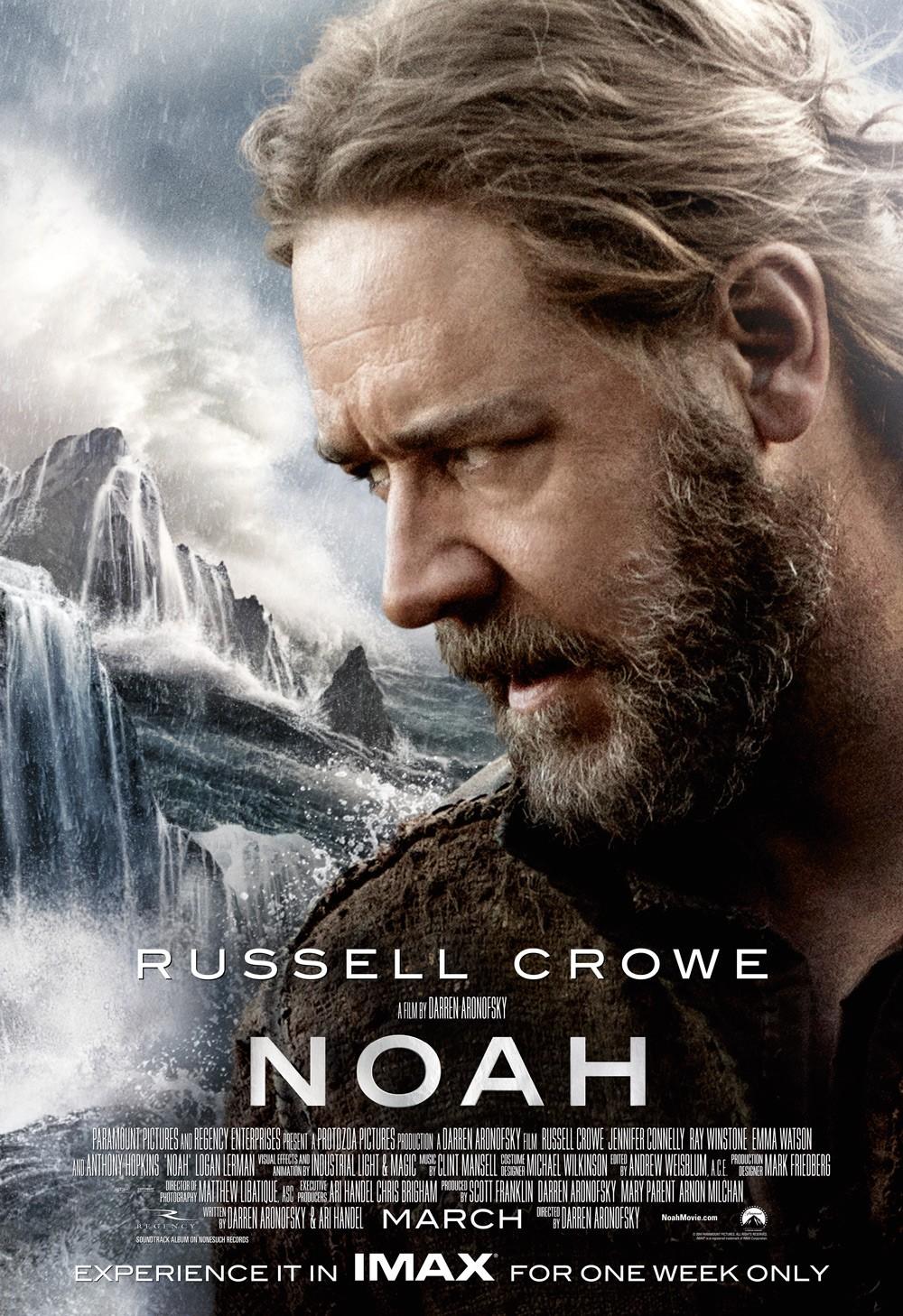 Фильм «Ной» (2014): Рассел Кроу 1000x1458