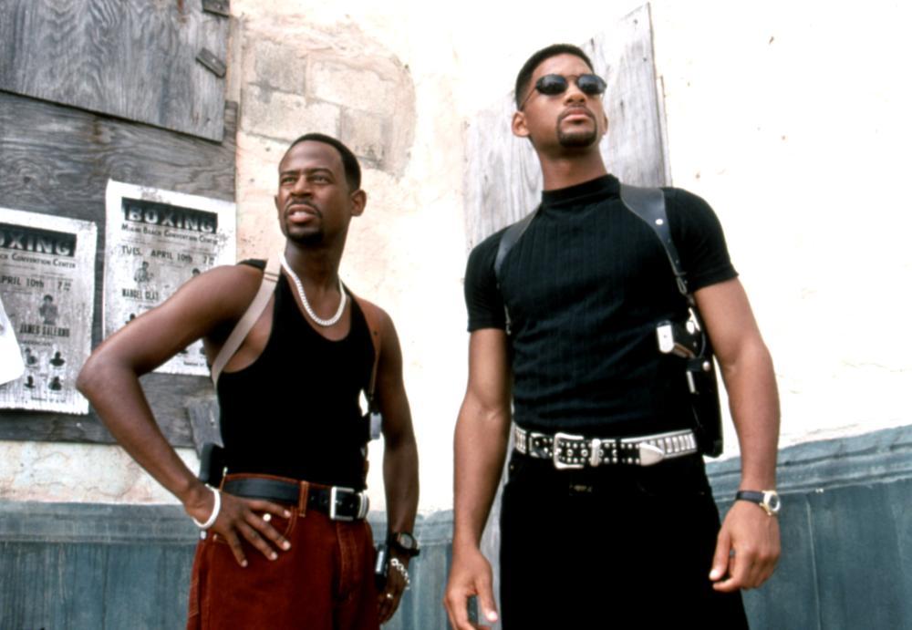 Фильм «Плохие парни» (1995): Мартин Лоуренс, Уилл Смит 1000x691