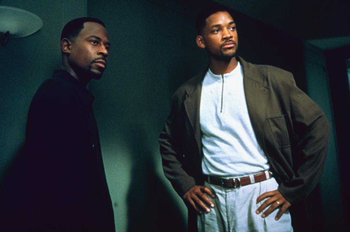 Фильм «Плохие парни» (1995): Мартин Лоуренс, Уилл Смит 1200x795
