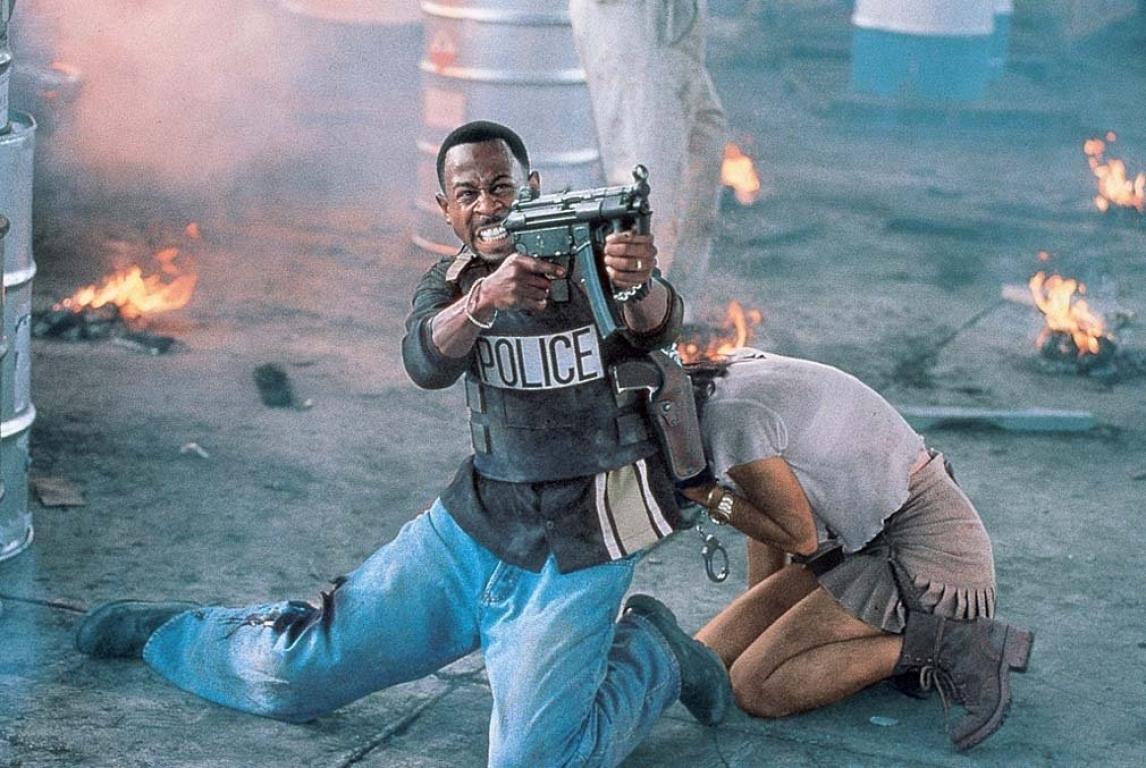 Фильм «Плохие парни» (1995): Теа Леони, Мартин Лоуренс 1146x768