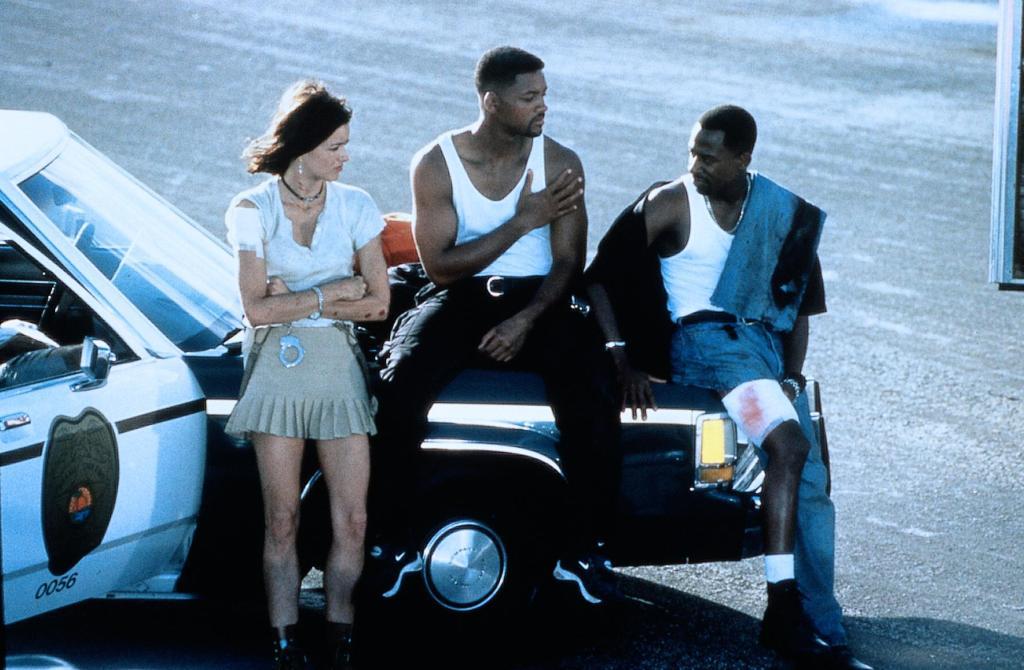 Фильм «Плохие парни» (1995): Теа Леони, Уилл Смит, Мартин Лоуренс 1024x670