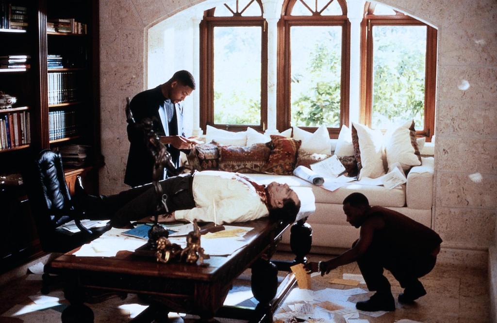 Фильм «Плохие парни» (1995): Уилл Смит, Мартин Лоуренс 1024x666