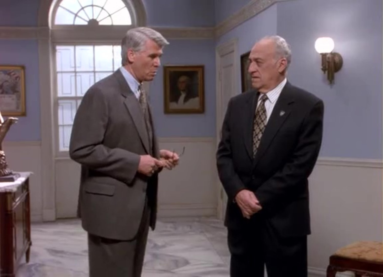 Серіал «Спін Сіті» (1996 – 2002): Джеррі Адлер, Беррі Боствік 1 сезон, 11 епізод — «Вечер собачьего дня» (Dog Day Afternoon) 1495x1080