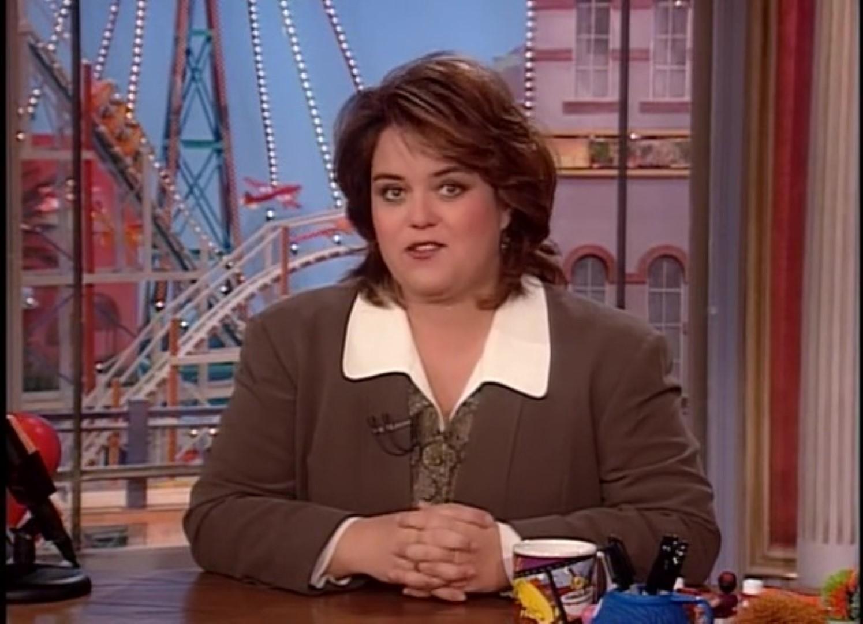 Серіал «Спін Сіті» (1996 – 2002): Розі О'Доннелл 1 сезон, 17 епізод — «Незабываемый роман» (An Affair to Remember) 1495x1080