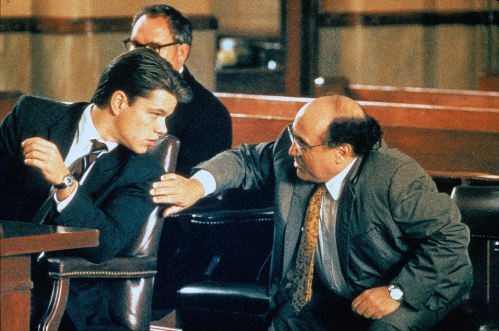 Фильм «Благодетель» (1997): Мэтт Дэймон, Дэнни ДеВито 1024x680