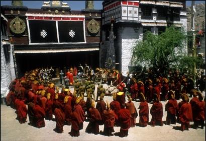 «Сім років у Тибеті» — кадри