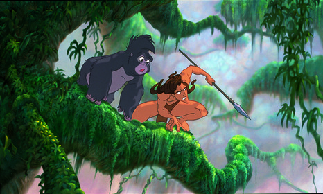 «Тарзан» — кадри