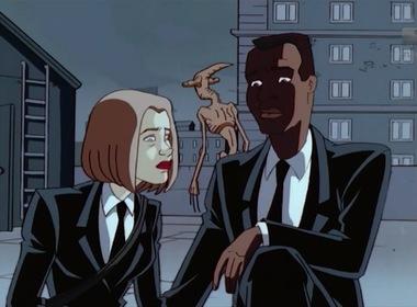 «Люди в чорному» — кадри