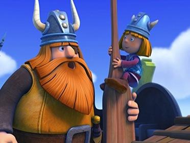 «Вікі - маленький вікінг» — кадри
