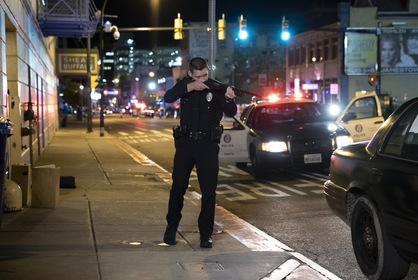 «Полицейский седан» — кадры