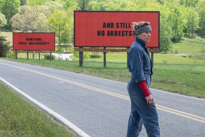 «Три билборда на границе Эббинга, Миссури» — кадры