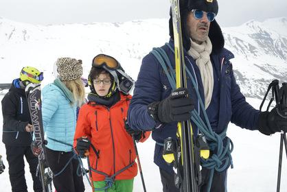 «Горные лыжи» — кадры