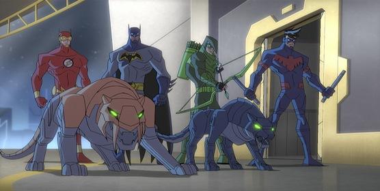 «Безмежний Бетмен: Тваринні інстинкти» — кадри