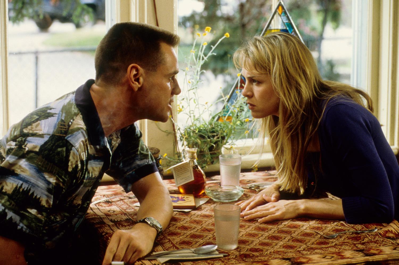 Фильм «Я, снова я и Ирэн» (2000): Джим Керри, Рене Зеллвегер 1500x997