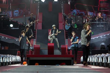 «One Direction: Где мы сейчас» — кадры