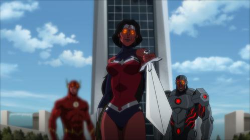 «Ліга Справедливості проти Юних Титанів» — кадри
