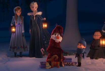 «Крижане серце: Різдво з Олафом» — кадри