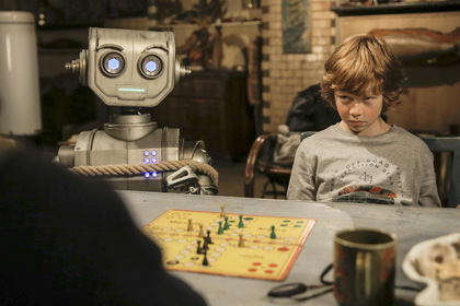 «Мій друг робот» — кадри